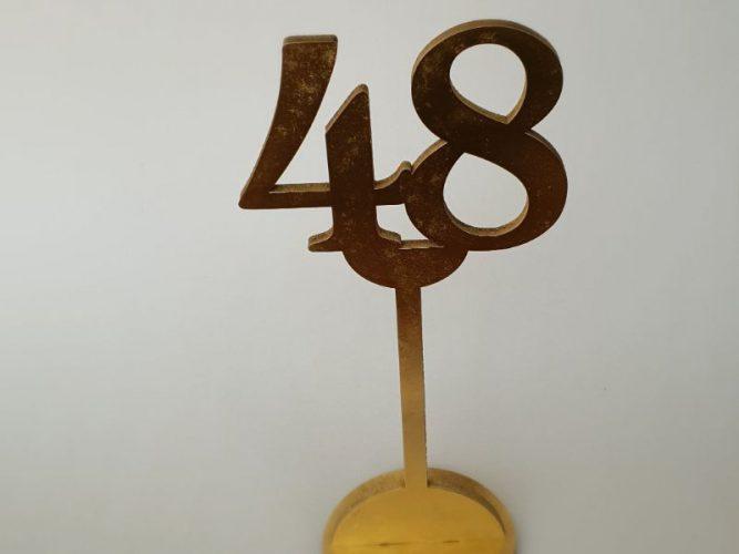 מספרי שולחן