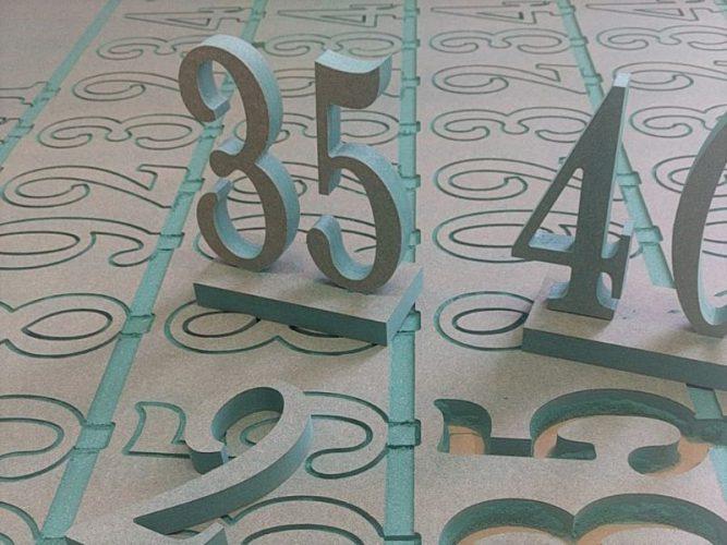 מספרי MDF שולחן
